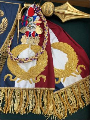 Decoration drapeau bspp