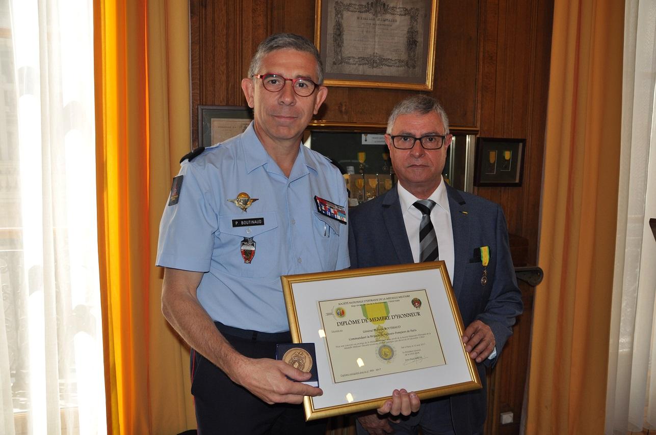 General boutinaud membre d honneur snemm