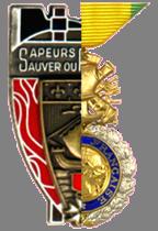 1831e Section des Médaillés Militaires des sapeurs-pompiers de Paris